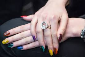 pictures best nail trends for fall 2014 multi color nails fall
