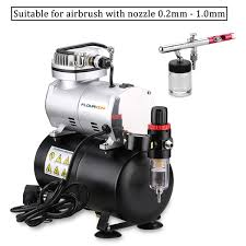 1 6 hp auto airbrush tank compressor kit spray air brush tattoo