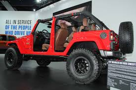 jeep mercedes red jeep announces very limited run of wrangler red rock edition
