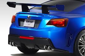 ricer subaru brz subaru brz concept sti first official photo released ahead of la