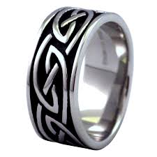 celtic knot wedding bands mens womens celtic knot fashion ring wedding band
