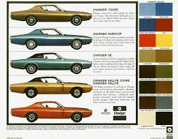 1972 charger specs colors facts history and performance