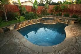 Inground Pool Ideas Small Backyard Inground Pool Design Gingembre Co