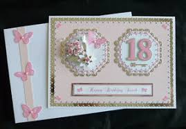 birthday card 18th or 21st box daughter sister mum etc a4 size