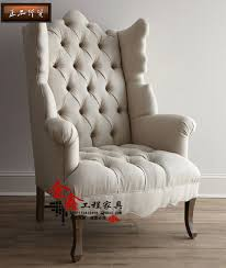 French Linen Armchair Chair Decor Picture More Detailed Picture About Custom Tiger