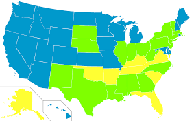Labeled Map Of Us File Map Of Us Electric Chair Usage Svg Wikimedia Commons