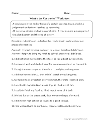 Pictograph Worksheet Reading Worksheets Drawing Conclusions Worksheets