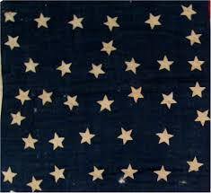 Blue Flag With Stars Rare Flags Antique American Flags Historic American Flags