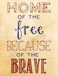 Home Free by Home Of The Free Because Of The Brave Everything Military
