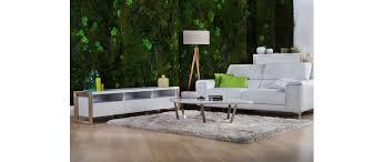 canape cuir avec tetiere canapé cuir design deux places avec têtières relax blanc nevada