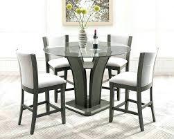contemporary counter height table counter height table leather chairs contemporary counter height
