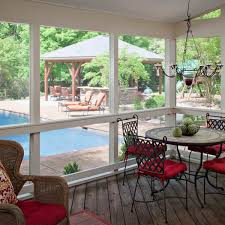 the martha stewart inspired screened porch by archadeck of