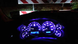 08 silverado complete interior blue led conv youtube