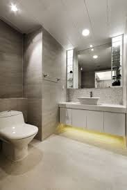 Lighting Ideas For Bathrooms by Bathroom Modern Bathroom With Halogen Lighting Idea Also Led