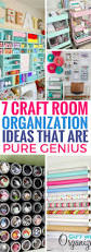 7 craft room organization ideas that are pure genius