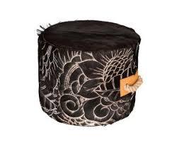 ottoman cowhide furniture art hide