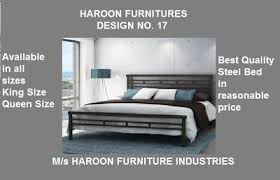 double steel bed designs with prices haroon furniture industries