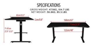 Adjustable Height Desk Reviews by Arozzi Arena Gaming Desk Review Introduction U0026 Unboxing