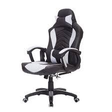 fauteuil de bureau homcom chaise de bureau fauteuil de réchauffage chauffant