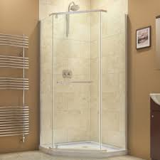 Tiny Shower Stall by Bathroom Design Small Corner Shower Stall Kits With Silver Frame