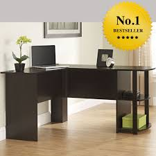 home office corner l shaped desk computer table storage activity