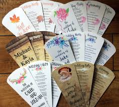 fans for wedding programs wedding program fan petal fan programs wedding fan floral