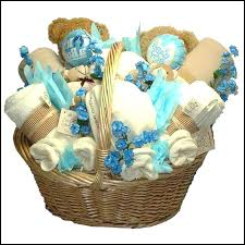 Unique Gift Ideas For Baby Shower - baby shower gift basket ideas for boy baby shower basket gift