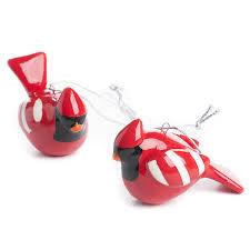 ceramic cardinal ornaments birds butterflies basic craft