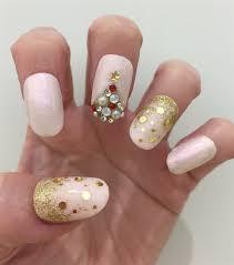 feminine and fun christmas tree nail art style nails magazine
