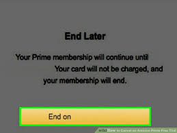 amazon si e social how to cancel an amazon prime free trial 14 steps with pictures