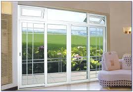 custom glass sliding doors patio doors with blinds between the glass u2013 smashingplates us