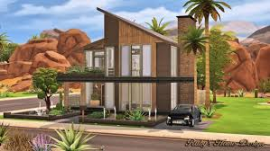 ruby s home design modern industrial home u2022 sims 4 downloads