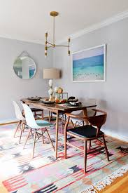 Modern Dining Room Rugs Modern Los Angeles Bungalow Home Tour