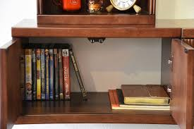 floating tv stand curve 2 piece mocha woodwaves