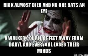 Walking Dead Meme Daryl - the walking dead daryl cliffhanger business insider