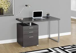 Computer Desk With Filing Drawer Deluxe Glass Top Computer Desk With File Drawer