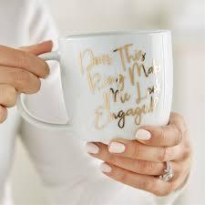 ring engaged does this ring make me look engaged coffee mug