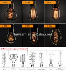 different size light bulbs big size edison bulb l china supplier edison lighting bulbs