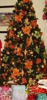 Kitchen Christmas Tree Ideas Best 25 Orange Christmas Tree Ideas On Pinterest Orange