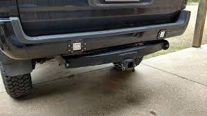 led bumper backup lights auxiliary led reverse light install toyotaoff road com
