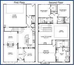 two floor house plans home architecture house plan story bedroom house plans photo