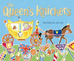 the queen u0027s knickers amazon co uk nicholas allan 8601300069913