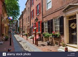 Elfreth S Alley by Historic Elfreth U0027s Alley In Downtown Philadelphia Pennsylvania