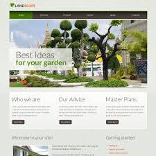 Landscaping Advertising Ideas Landscape Design Moto Cms Html Templates