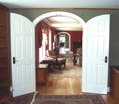 Recycled Interior Doors Custom Arched Interior Doors And Top Throughout Arched
