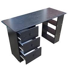 Rattan Computer Desk Home Treats Computer Desk With 3 Drawers U0026 4 Shelves Home Office