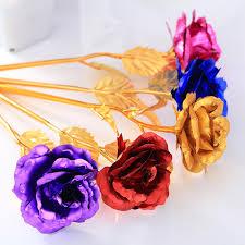 bd 24k gold plated rose dipped foil floral birthday valentine u0027s