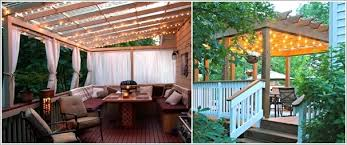 outdoor decor 10 magical outdoor decor projects with fairy lights