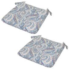 Steamer Chair Cushions Canada by Hampton Bay Paisley Outdoor Seat Cushions Outdoor Chair