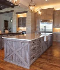 rustic barn wood kitchen cabinets barn wood siding salvaged reclaimed look barn gray